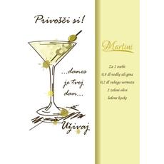 Voščilo Čestitka Privošči Si Limeta Recept Martini