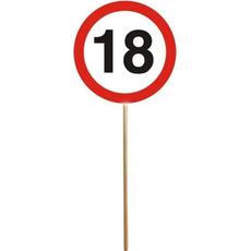 Darilo Prometni Znaki 18 Na Palici