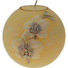 Darilo Sveča Ledene Orhideje Krogla