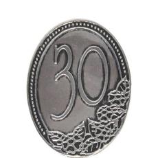 Kovinska Ploščica 30 Let Nalepka