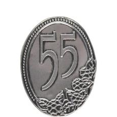 Kovinska Ploščica 55 Let Nalepka