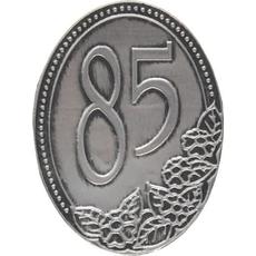 Kovinska Ploščica 85 Let Nalepka