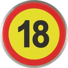 Magnet Prometni Znak 18 Let