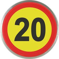 Magnet Prometni Znak 20 Let
