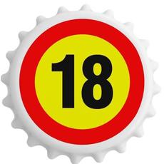 Odpirač Magnet Prometni Znak 18 Let