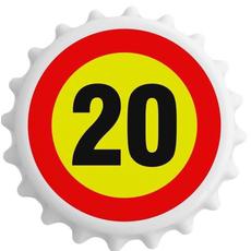 Odpirač Magnet Prometni Znak 20 Let