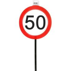 Prometni Znaki 50 Na Palici Rojstni Dan Abraham