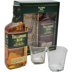 Whisky Tullamore Dew 0.7L + 2 kozarca