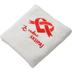Brisača za valentinovo, Za vedno skupaj, 100% bombaž