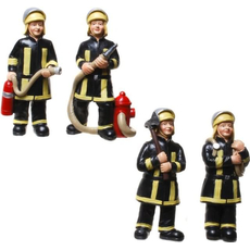 Figura gasilec iz polymase, 10 cm