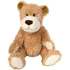 Plišasta igrača - medvedek svetlo rjav, 20 cm