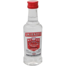 Smirnoff Red vodka, 37.5 vol, 0,05L