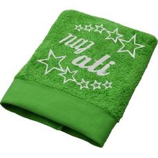 Brisača Naj ati, svetlo zelena 100x5Ocm 100% bombaž