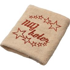 Brisača Naj boter, beige 100x5Ocm 100% bombaž