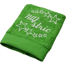 Brisača Naj stric, svetlo zelena 100x5Ocm 100% bombaž