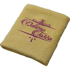 Brisača Odlična tašča, rumena 100x5Ocm 100% bombaž