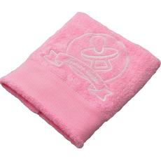 Brisača ob rojstvu, 100x5Ocm, svetlo roza, duda