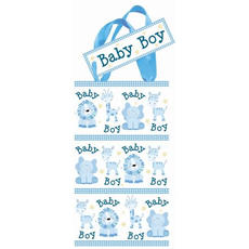 """Darilna škatlica za rojstvo """"Baby boy"""" z ročaji, 15x8,5cm"""