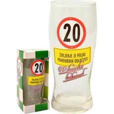 Kozarec Za Pivo 0,5l 20 Let Življenje