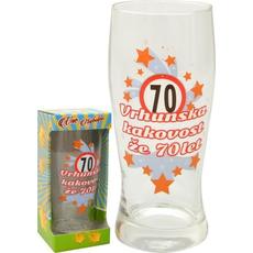 Kozarec za pivo 0,5l 70 let Vrhunska kakovost