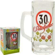Vrč za pivo 0,5l 30 let Slavljenec
