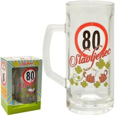 Vrč za pivo 0,5l 80 let Slavljenec