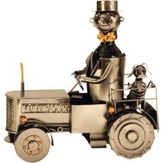 """Kovinsko stojalo za buteljko """"Traktorist"""", 22.5cm"""