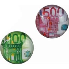 Magnet, motiv Evro, steklen, 3.5cm, sort.