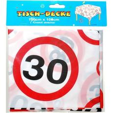 Namizni prt, prometni znak 30, 100x100cm