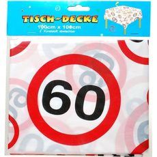 Namizni prt, prometni znak 60, 100x100cm