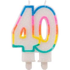 Sveča Torta Številka 40