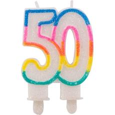 Sveča Torta Številka 50