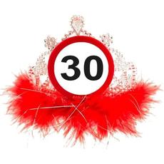 Tiara, prometni znak 30