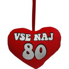 Darila Srček Vse Naj 80