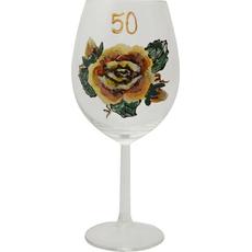 Kozarec Vino Poslikava Vrtnica Rumena 50let