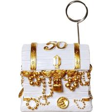 Skrinja z zakladom za zlato poroko - držalo za sliko