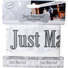 """Trak iz pvc za označevanje - """"Just Married"""", 15m"""