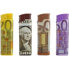 Vžigalnik elektronski, Euro/Dollar, 5 različnih