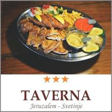 Darilni Bon Plošča Domače Taverna Jeruzalem
