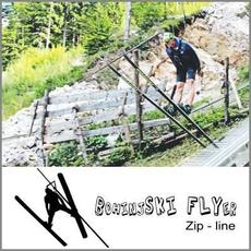 Smučarski skok - zip-line za odraslega, Bohinjski Flyer (Vrednostni bon, izvajalec storitev Smučarsko skakalni klub Bohinj)