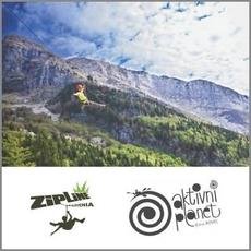 {[sl]:Adrenalinska vožnja Zipline, Aktivni planet Bovec (Vrednostni bon, izvajalec storitev: ADRENALIN PARK BOV