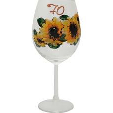 Kozarec Vino Poslikava Sončnice 70let