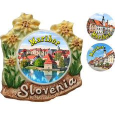 Slovenija - MB, Magnet - rožice