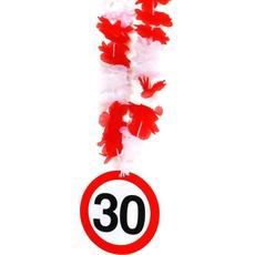 Dekoracija Party Ogrlica Prometni Znak 30