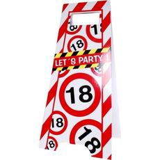 """Talna označba """"lets party"""", prometni znak 18, 3Ox62.5cm"""