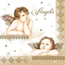 Papirnate serviete, angelčki, 33x33cm, 20kos.