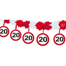 Girlanda Papir Prometni Znak 20