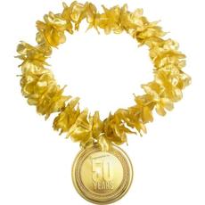 Hawaii ogrlica, zlata, št. 50,  65cm