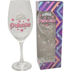 Kozarec za vino, Glitter party, Princesa, 6OOml