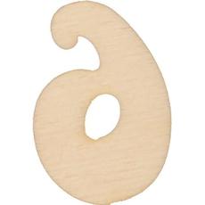 Lesena številka 6, 3.5 cm